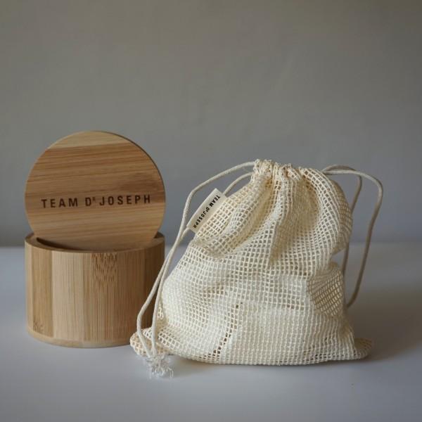 Reusable Bamboo Pads - 10 St. inkl. Wäschesäckchen